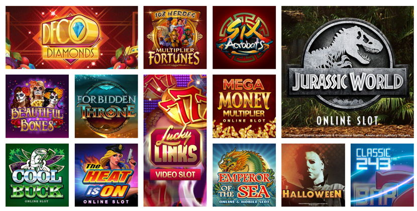 32red casino games selection example