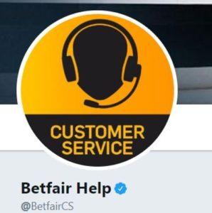 Betfair Twitter