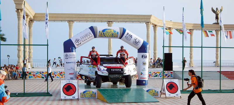 FIA world rally kazakhstan