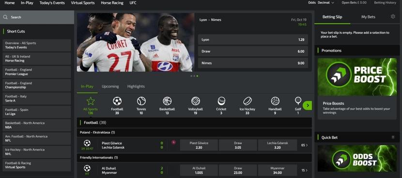 Mobilebet Desktop Site