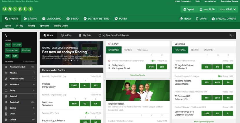 Unibet Review | Betting Websites UK