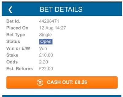 Winner Cashout