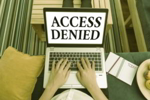Access Denied Self Exclusion