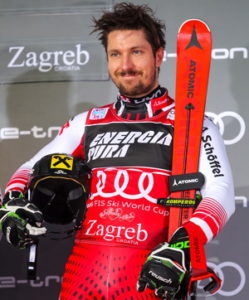 alpine ski competition winner