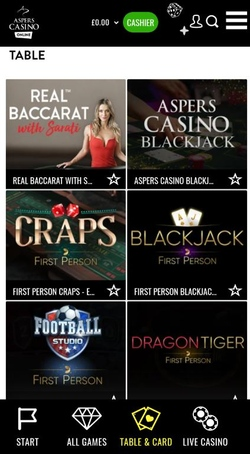 Aspers Casino Mobile App