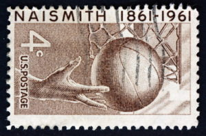 basketball james naismith stamp