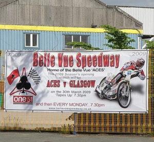 belle view speedway advert