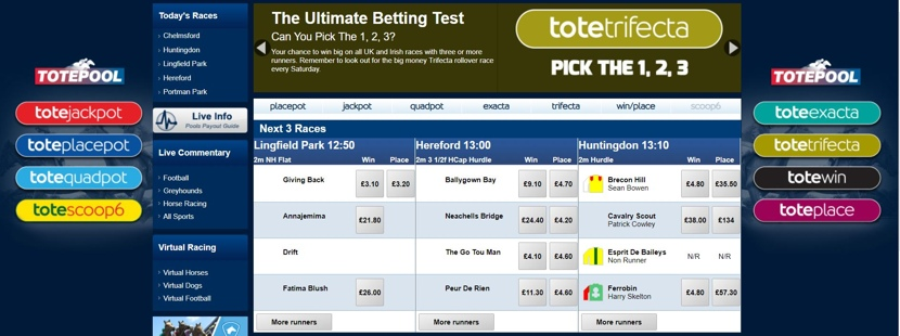 Betfred Totepool