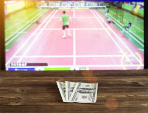 betting on badminton