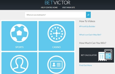 Betvictor Customer Services