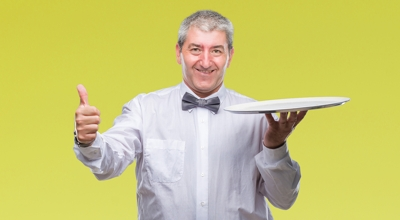 Happy Waiter