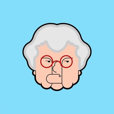 Angry Bingo Old Lady