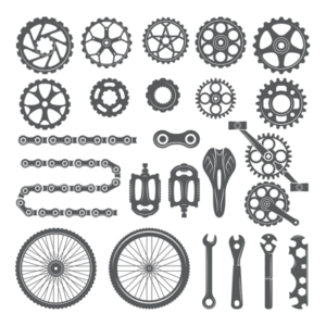 bike gears chains and equipment
