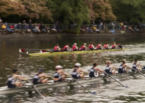 boat race on the river