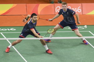 british badminton mens doubles team at the olympics