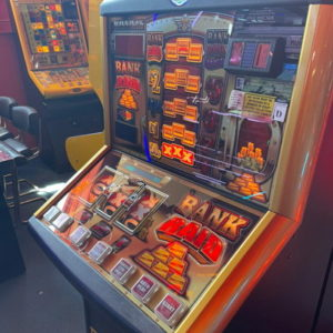 category d gaming machine in an arcade
