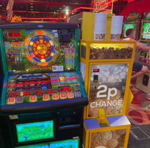 category d gaming machine in arcade