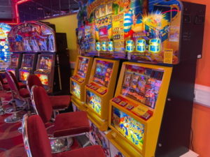 category d gaming machines in an arcade