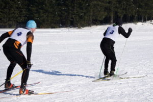 cross-country ski race