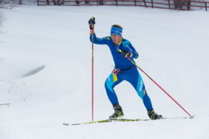 cross-country skiier