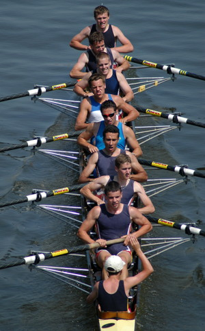 eights rowing boat
