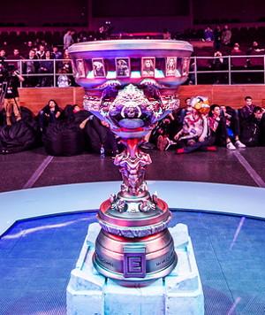 esports trophy