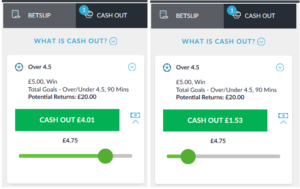example of a live partial cash out