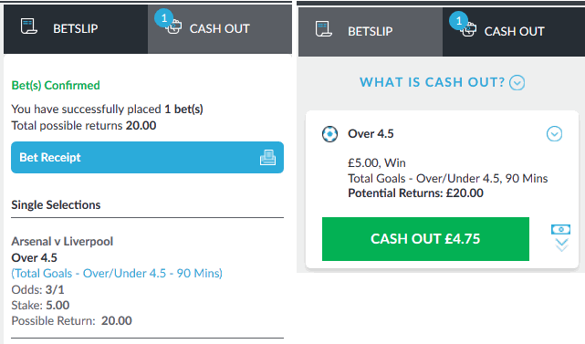 example of live bet editing