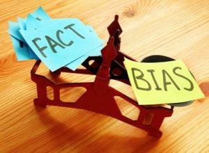 fact vs bias on scales