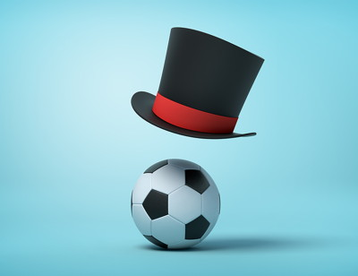 football and hat