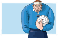 gaelic football player cartoon 200