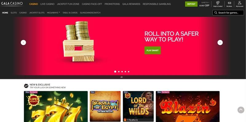 Gala Casino screenshot