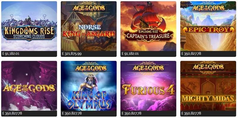 Gala Casino Playtech games