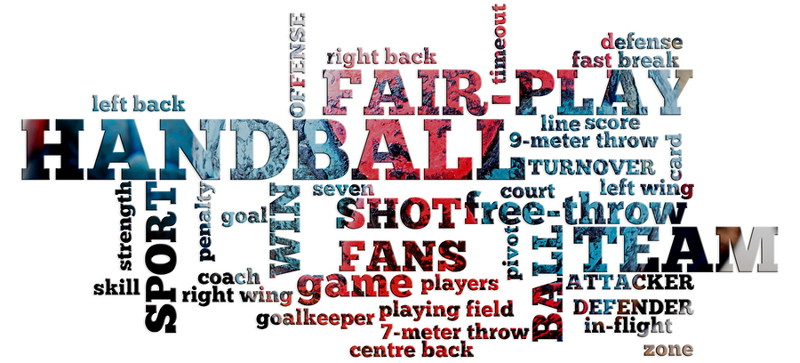 handball words