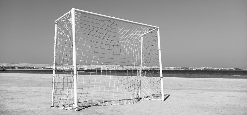 history of beach football