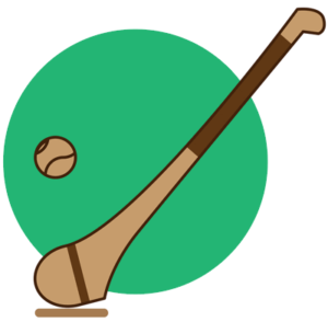 hurling stick and ball 1