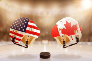 ice hockey usa canada