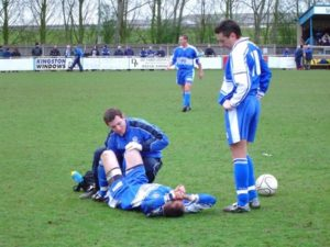 Injured Footballer