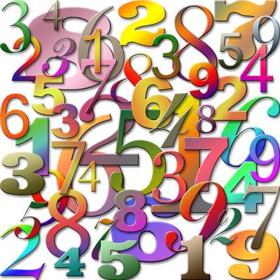 jumbled up random numbers