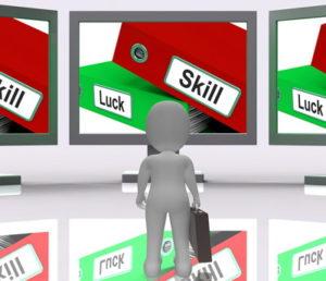 luck vs skill