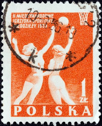 netball polish stamp