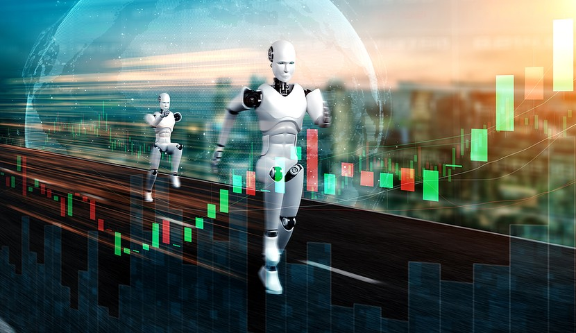 Quantum Computer Trading