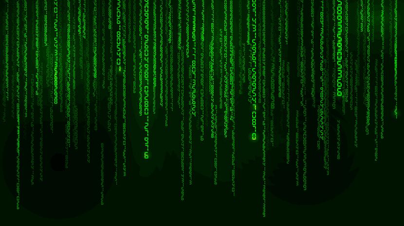 random number stream, matrix stlye
