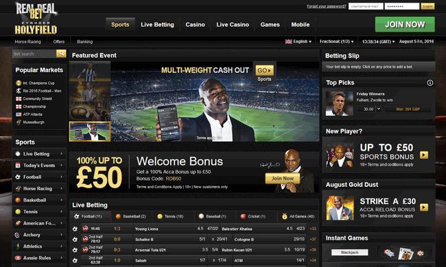 Real Deal Bet screenshot