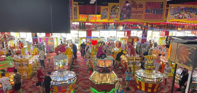 seaside arcade inside