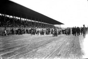 speedway race circa 1920