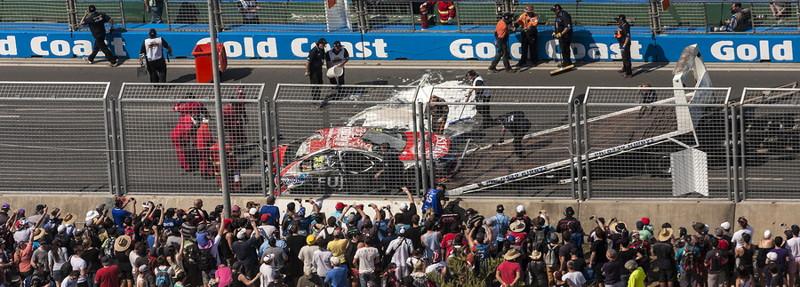 supercar crash pit straight