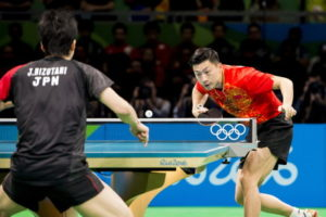 table tennis at the olympics china v japan
