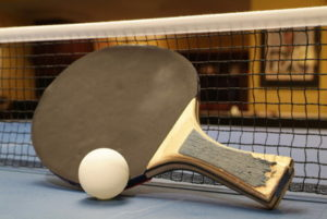 table tennis bat worn out