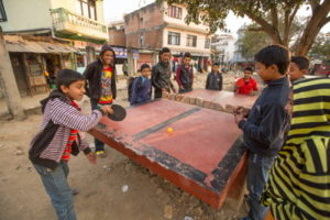 table tennis match in nepal